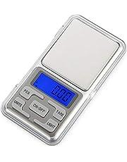 Digitale zakweegschaal, oplaadbaar, 0,1 g, draagbare weegschaal, mini-weegschaal, elektronisch, 0,01 g, zakweegschaal, precisieweegschaal, palm, gram-Engelse knop 100 g/0,01 g