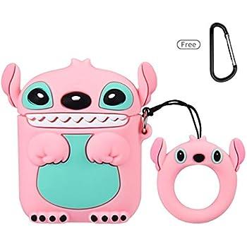 Amazon.com: Joyleop(Q Stitch-Pink) Compatible with Airpods
