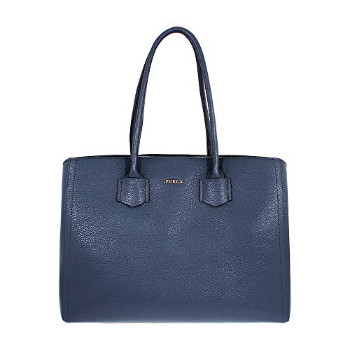Furla Alba Ladies Large Gray Ardesia Leather Tote 984371 (Sonnenbrille Furla)
