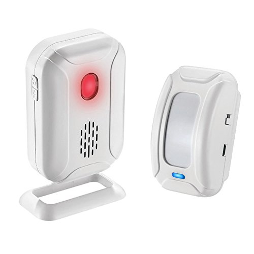 Motion Sensor Alarm/Doorbell/Alert, Home Security Driveway Alarm, Store Welcome Entry Chime,Mailbox Alert, Visitor Door Chime, Range at 918ft 36 Chime Melodies ()