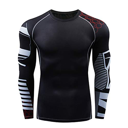 IEason Men's Gym Sport T-Shirt Suit O-Neck Fitness