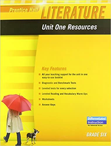 Amazon.com: PRENTICE HALL LITERATURE 2010 UNIT 1 RESOURCE GRADE 6 ...