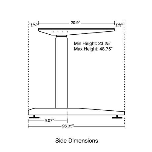 Jarvis Electric Adjustable Height Standing Desk Frame Old