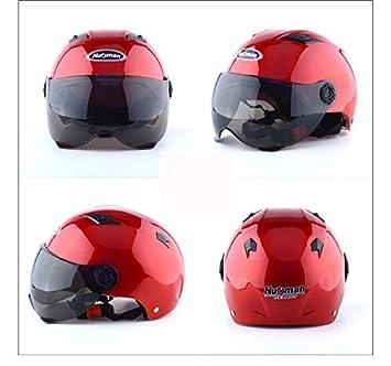 Transpirable Casco de Moto Profesional FidgetFidget Resistente al Viento Unisex para el Verano