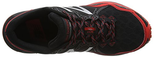 New Balance 910 Trail, Zapatillas de Running para Hombre Multicolor (Black/Red 009)