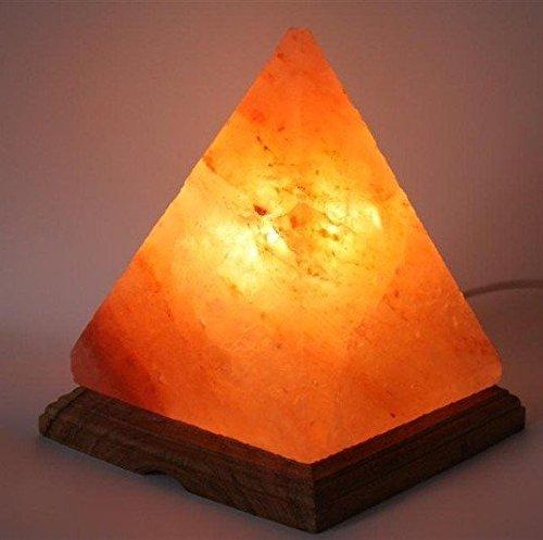 Beautiful Himalayan Salt Lamp / Salt Lamp / Rock Salt Lamp   Pyramid Shape
