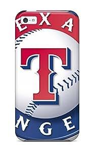 New Fashion Premium Tpu Case Cover For Iphone 5c - Texas Rangers