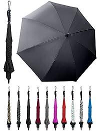 "Wind-Proof, Reverse Open, Upside Down 41.5"" Wide Umbrella"