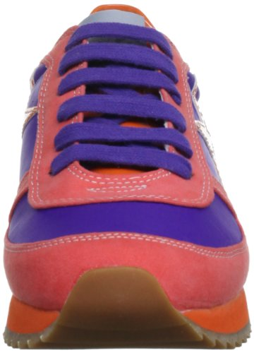 Blink Trainer-Bl 416-601190-E, Baskets mode femme Orange (Purple/Orange)