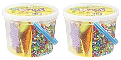 Perler Beads Sunny Days Activity Bucket (2 Pack)