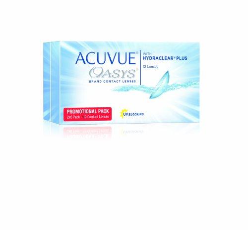 Acuvue Oasys 2-Wochenlinsen weich, 12 Stück / BC 8.4 mm / DIA 14.0 / -3.50 Dioptrien