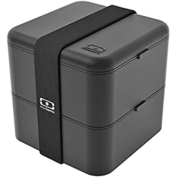 monbento MB Square Bento Box, Black