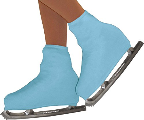 Chloe Noel Figure Skating Boot Cover B01 Light Blue Junior (1-13)