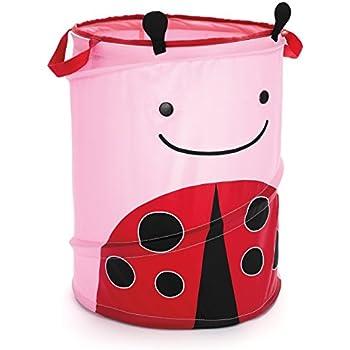 Amazon Com Skip Hop Zoo Pop Up Hamper Livie Ladybug Baby