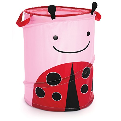 - Skip Hop Zoo Pop-Up Hamper, Livie Ladybug