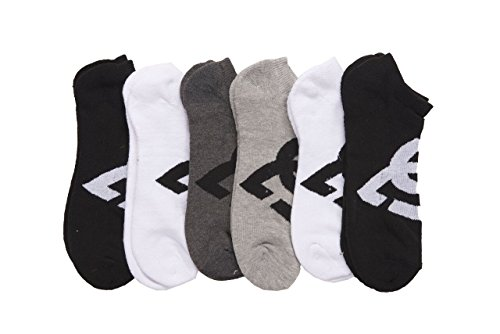 dc-6-pack-mens-sport-no-show-socks-assorted-10-13-size-shoe-size-6-125-white-black