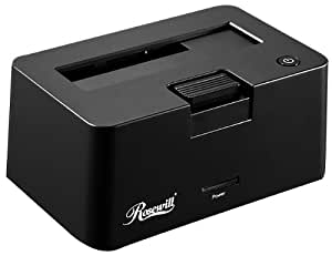 Rosewill 2.5-Inch and 3.5-Inch USB 3.0 Hard Drive Docking RX-DU300 Black