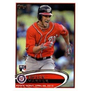 2012 Topps Update Series Baseball Card Us183 Bryce Harper