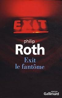 Exit le fantôme : roman, Roth, Philip