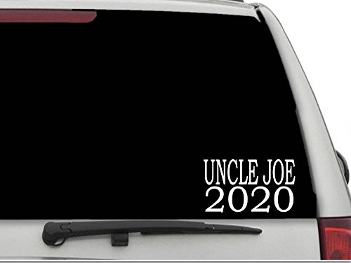 Decals USA Uncle Joe 2020 Decal Sticker for Car and Truck Windows and Laptops Barack Obama Bumper Sticker Free