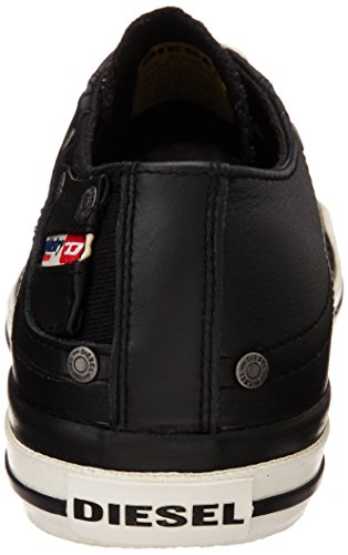 "Diesel ""Magnete"" Exposure Low I- Sne, Zapatillas Bajas Hombre Negro (T8013 Black)"
