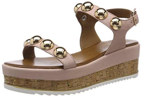 Inuovo Women's 8825 Ankle Strap Sandals Pink (Blush 12285951) fpqI7f9Z