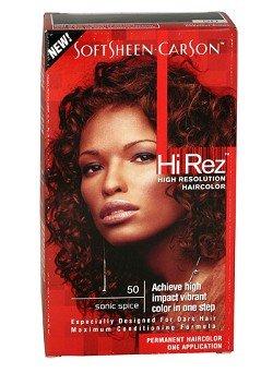 Hi Rez Hair Color - Softsheen Carson Hi Rez 50 Sonic Spice