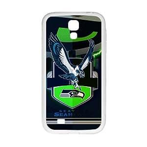 Custom Samsung Galaxy S4NFL Sports Logotipos Case Seattle Seahawks Logo Design Protective Bumper Cover