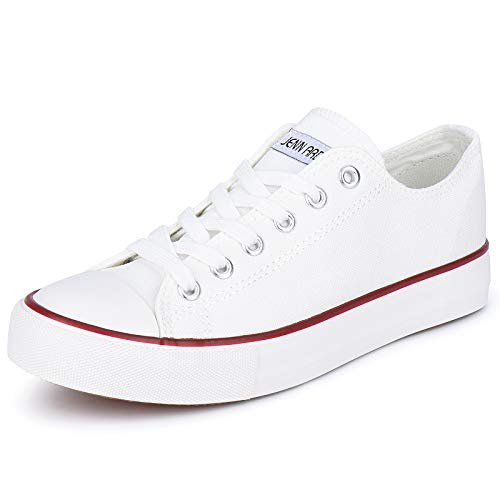 JENN ARDOR Women's Canvas Shoes Sneakers Low Top Canvas for Girls Students