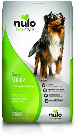 Nulo Senior Grain Free Dog Food - Best Senior Dog Food for Digestive Problems