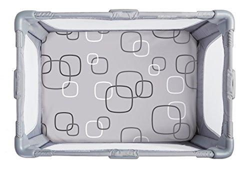 4moms Breeze playard Waterproof, Machine Washable playard Sheets - Soft, Plush Fabric - Silver/White by 4moms (Image #2)