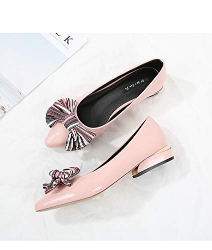 40 coloré Taille Noir ZHRUI Chaussures EU Rose g6TpXq