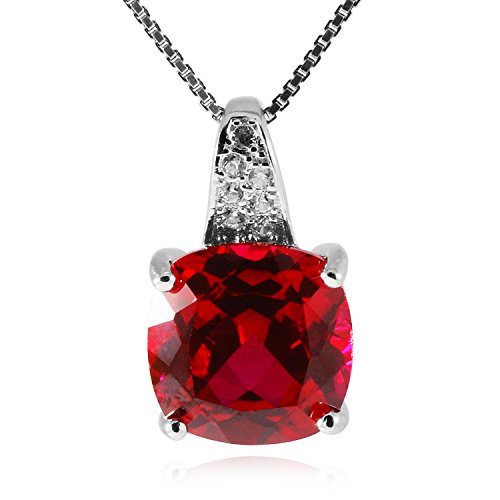 Jewelrypalace-Womens-925-Sterling-Silver-Pendant-Necklace-18-Cushion-493ct-Created-Red-Ruby