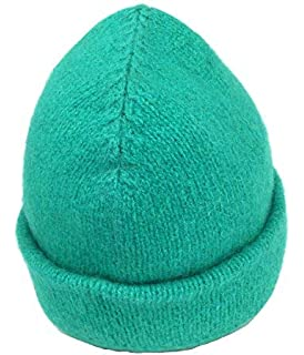 60834e9642008 Evolution Knitwear 100% Wool Rib Knit Beanie Hat Cap for Women   Men ...