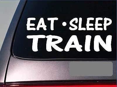 (Yilooom Eat Sleep Train Stickerh26 8