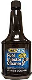 Fuel Injector Cleaner JetGo 12 OZ MADE IN USA Remove gum, Vanish and Carbon from Fule System