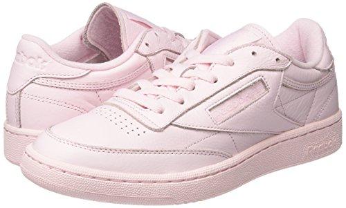 Pink Basses Club Reebok porcelain C 85 Rose Elm Sneakers Homme nPwHUq4