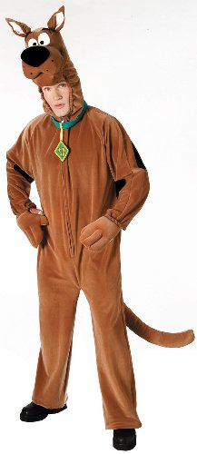 Snack Machine Costume (Deluxe Scooby Doo Costume, Orange, Standard, Orange, Standard Size)