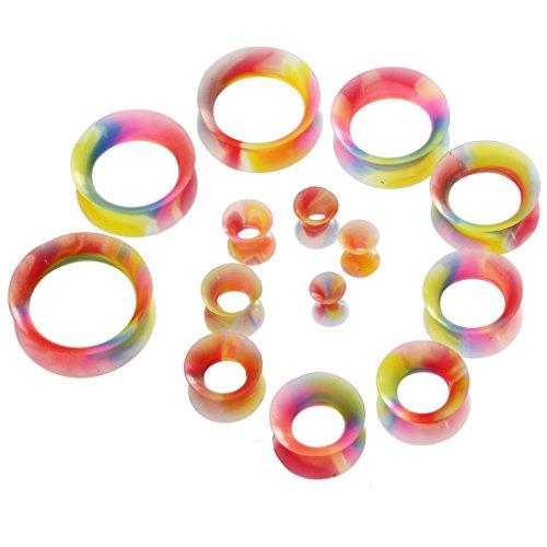 7 16 tie dye plugs - 2