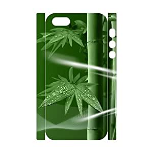 Bamboo Personalized 3D Cover Case for Iphone 5,5S,customized phone case ygtg-335625