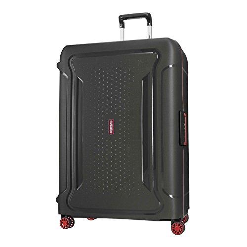 Luggage Samsonite Lock (American Tourister Tribus 29 Spinner, Black)