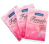 FC Female Condom - Quantity - 3 Pack