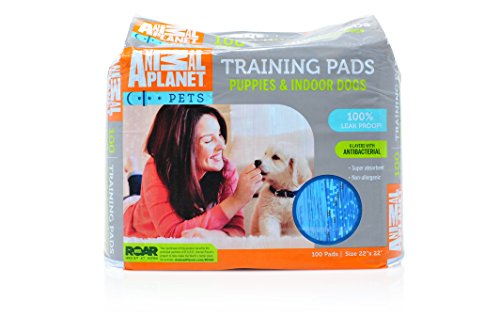 Cheap Animal Planet 23406 Indoor Puppy Training Pads, 22″ x 22″