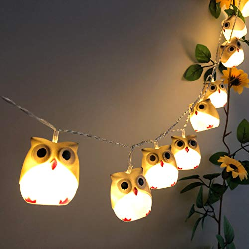 Dergo ☀owl Light String, Halloween New Owl