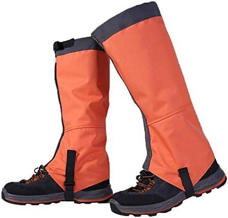 防水自転車オーバーシューズ レインブーツカバーレギンス防水ハイキングメンズハイレギンスの女性の子供登山スキーウォーキングに適し 屋外スポーツに適しています (色 : Blue, Size : Medium)