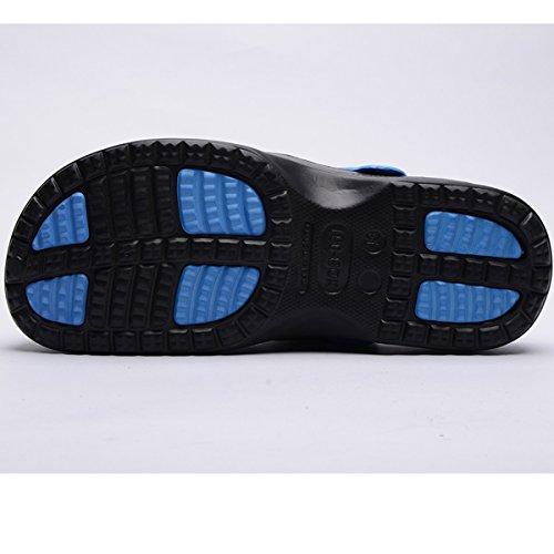Les Et Intérieur Léger Bleu Femmes Plage Extérieur Chaussures Noir Pour Pantoufles Unisexe Mookey Eva Et Sandales Les De Pantoufles XxqYYwB7