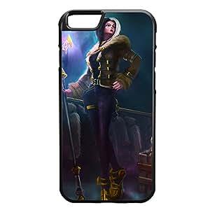 Leblanc-003 League of Legends LoL case cover for Apple iPhone 6 - Rubber Black