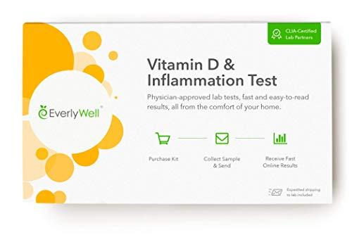 EverlyWell - at-Home Vitamin D and Inflammation Test - Learn if You are at Risk for Inflammation in Your Body (Not Available in MD,NY, NJ, RI)