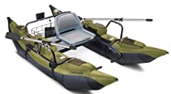The Colorado pontoon boat by Classic Accessories features 9 foot long pontoons attached to a powder-coated steel tube frame. Rugged 7 foot two-piece aluminum oars are included as well. The Colorado has a 400 pound weight capacity, and a wire ...