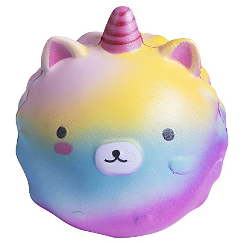 Kawaii Jumbo Squishies Slow Rising under 10 Rainbow Squishy Marshmallow Mushroom Octopus Cactus Lemon Fruit Squishy Stress Relief for Kids Girls Adults (Sheep) by KittyO